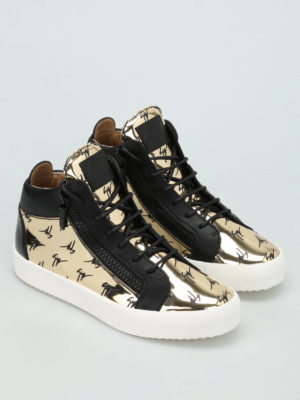 Giuseppe Zanotti: trainers online - May London high top mirror sneakers