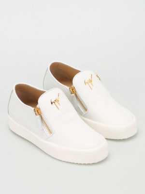 Giuseppe Zanotti: trainers online - May London leather slip-ons