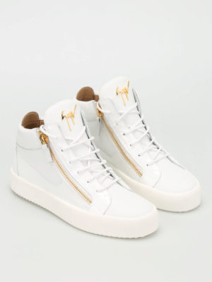 Giuseppe Zanotti: trainers online - May London leather sneakers