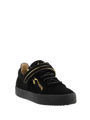 Giuseppe Zanotti: trainers online - Mick suede sneakers