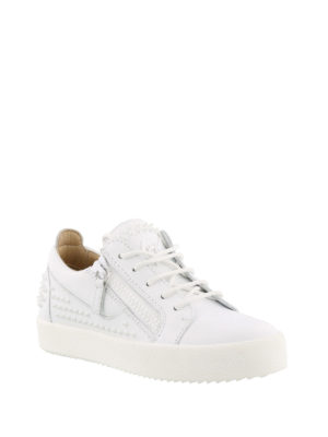 Giuseppe Zanotti: trainers online - Studded leather sneakers