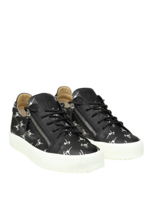 Giuseppe Zanotti: trainers online - The Signature leather sneakers
