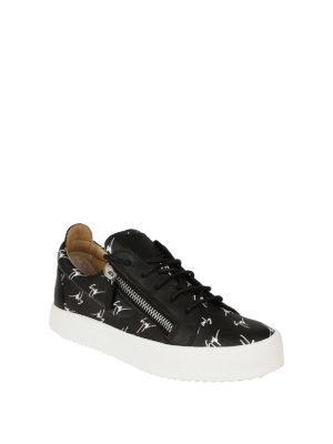 Giuseppe Zanotti: trainers online - The Signature low-top black sneaker