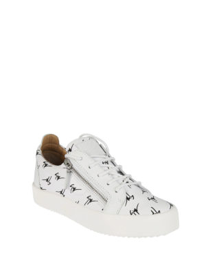 Giuseppe Zanotti: trainers online - The Signature low-top white sneaker