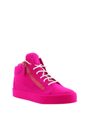 Giuseppe Zanotti: trainers online - The Unfinished fluo sneakers