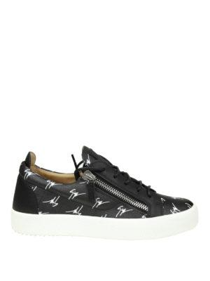 Giuseppe Zanotti: trainers - The Signature leather sneakers