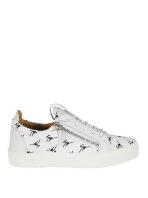 Giuseppe Zanotti: trainers - The Signature low-top white sneaker
