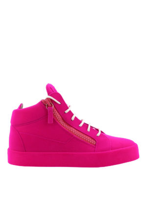 Giuseppe Zanotti: trainers - The Unfinished fluo sneakers