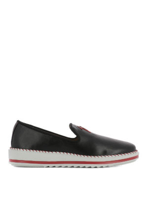 Giuseppe Zanotti: trainers - Tim leather sneakers