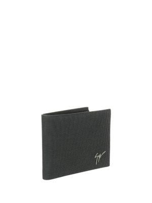 Giuseppe Zanotti: wallets & purses online - Monty studded leather wallet