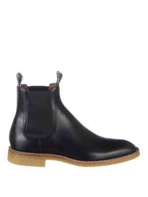 Givenchy: ankle boots - Black leather Chelsea boots