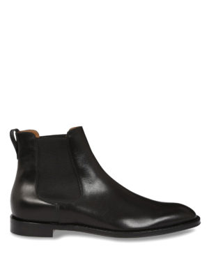 Givenchy: ankle boots - Chelsea leather ankle boots
