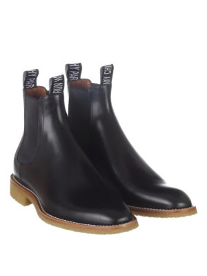 Givenchy: ankle boots online - Black leather Chelsea boots