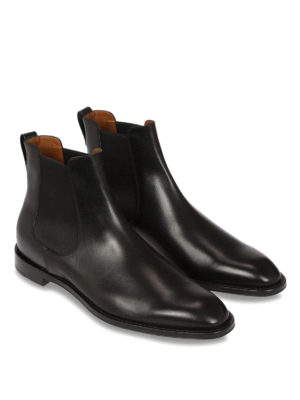 Givenchy: ankle boots online - Chelsea leather ankle boots