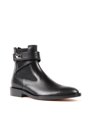 Givenchy: ankle boots online - Shark flat booties