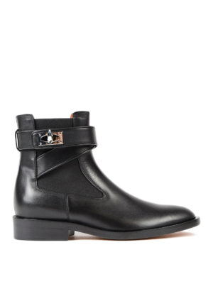 Givenchy: ankle boots - Shark flat booties