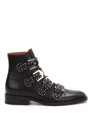 Givenchy: ankle boots - Studded ankle boots