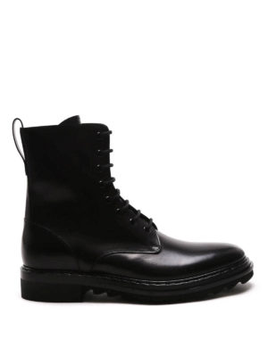 Givenchy: ankle boots - Vulcano lace-up combat boots
