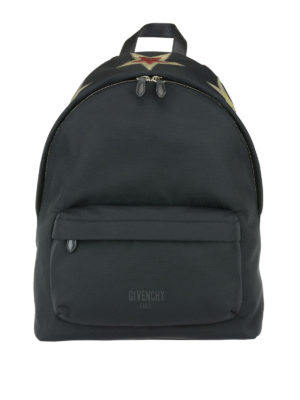 Givenchy: backpacks - Backpack with star patch