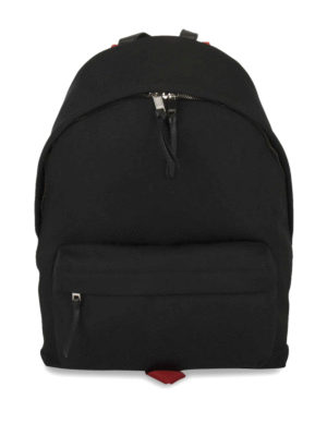 Givenchy: backpacks - Contrasting details nylon backpack