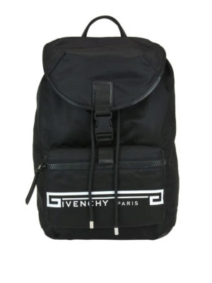 GIVENCHY: zaini - Zaino ripiegabile Light 3 in nylon con stampa