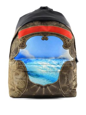 Givenchy: backpacks - Ocean printed backpack
