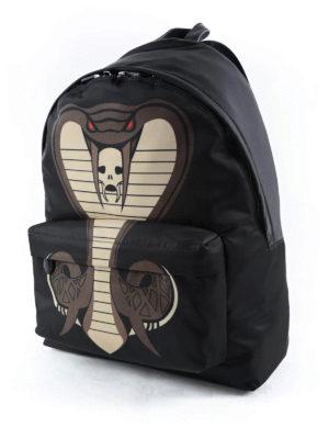 Givenchy: backpacks online - Cobra printed backpack