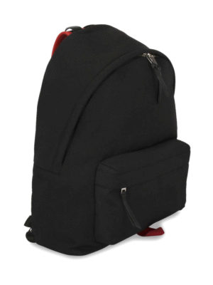 Givenchy: backpacks online - Contrasting details nylon backpack