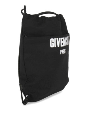 Givenchy: backpacks online - Cotton blend drawstring backpack