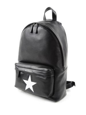 Givenchy: backpacks online - Star detailed leather backpack