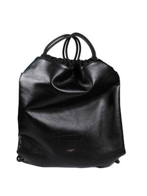 Givenchy: backpacks - POLISHED LEATHER FLAT BACKPACK