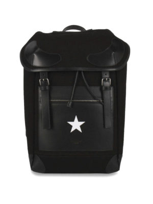 Givenchy: backpacks - Rider cotton backpack
