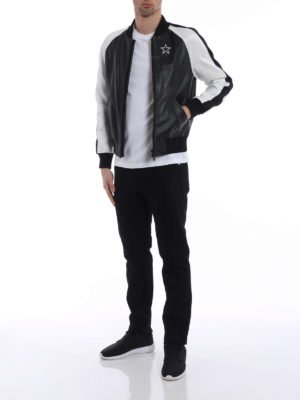 Givenchy: bombers online - Star double sided bomber jacket