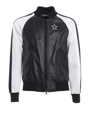 Givenchy: bombers - Star double sided bomber jacket