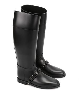 Givenchy: boots - Eva chain Wellington boots