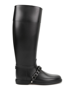 Givenchy: boots online - Eva chain Wellington boots