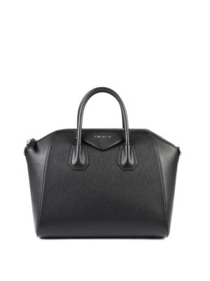 Givenchy: bowling bags - Antigona medium leather bag