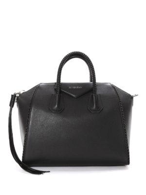 Givenchy: bowling bags - Antigona tassel detailed handbag