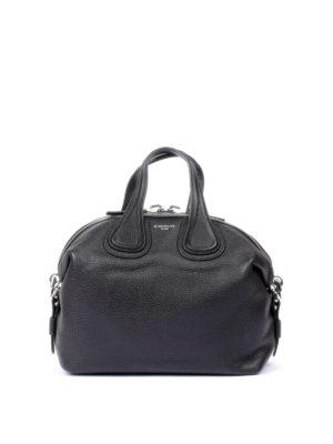 Givenchy: bowling bags - Nightingale black medium bag