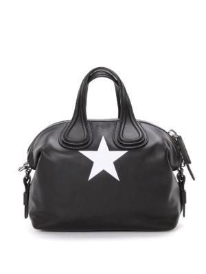Givenchy: bowling bags - Nightingale star detail medium bag