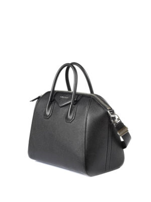 Givenchy: bowling bags online - Antigona medium leather bag