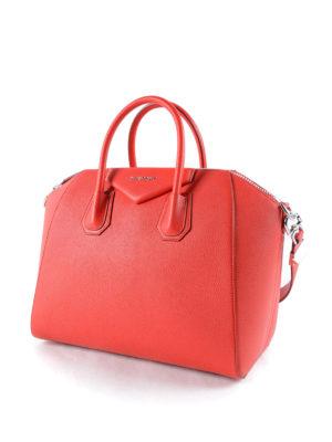 Givenchy: bowling bags online - Antigona medium tote