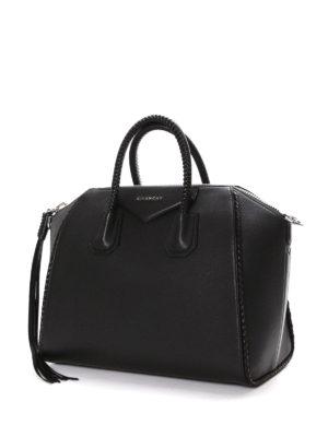 Givenchy: bowling bags online - Antigona tassel detailed handbag