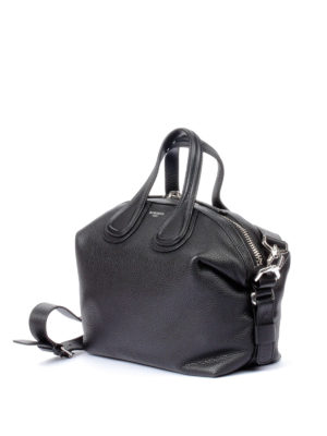 Givenchy: bowling bags online - Nightingale black medium bag
