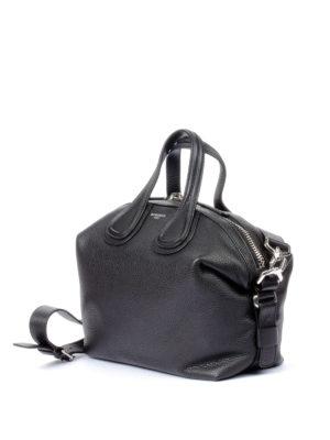Givenchy: bowling bags online - Nightingale black medium bag