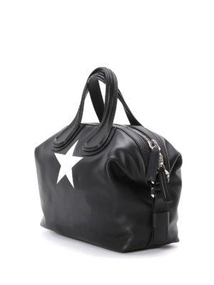 Givenchy: bowling bags online - Nightingale star detail medium bag