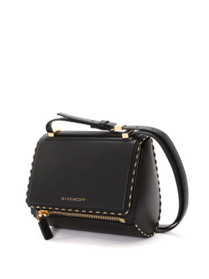 Givenchy: bowling bags online - Pandora Box mini bowling bag