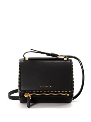 Givenchy: bowling bags - Pandora Box mini bowling bag