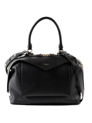 GIVENCHY: bauletti - Bauletto Sway M in pelle nera