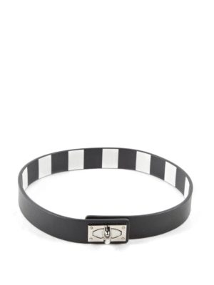Givenchy: Bracelets & Bangles - 2 Row Shark bracelet